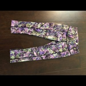 Lululemon Fast & Free High Rise Nulux crop